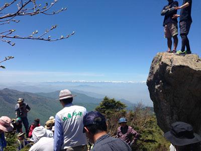 笠岳山開き5