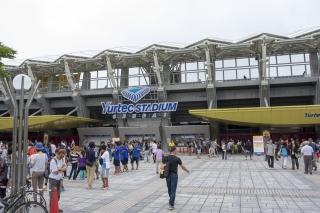 ユアテックスタジアム仙台へ