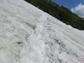 小雪渓ステップ