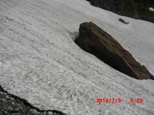 赤岩 下山跡