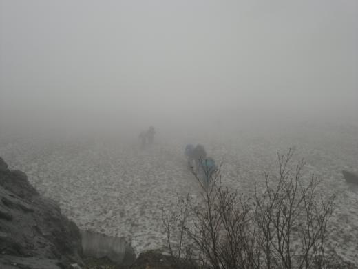 7.18 本日の大雪渓2