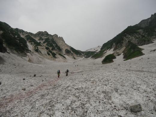 27.23 本日の大雪渓