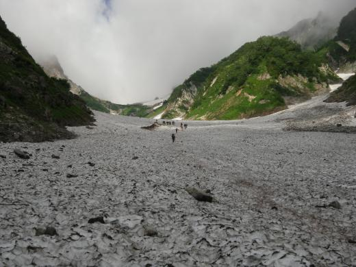 7.25 本日の大雪渓2