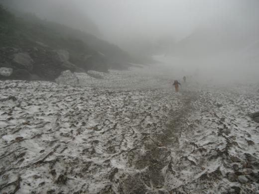 8.8 本日の大雪渓 3