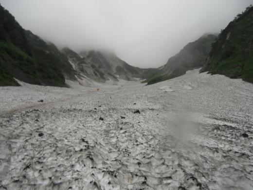 28.9 本日の大雪渓