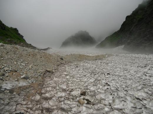 8.16 本日の大雪渓 2