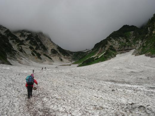 28.19 本日の大雪渓