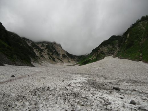 8.21 本日の大雪渓2