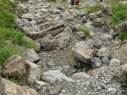 岩ゴロン修復