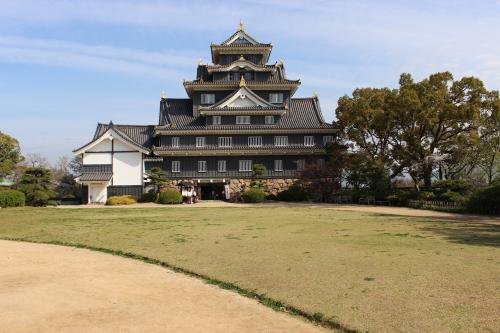 岡山城本丸