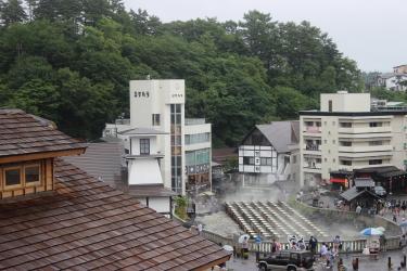 お寺からの眺望