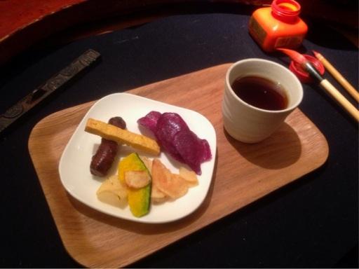 カフェ教室 今日のお茶とお茶菓子