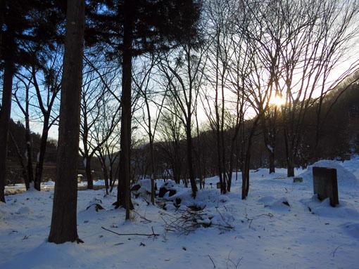 群馬県川場村・雪景色1