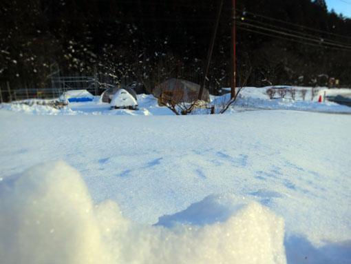 群馬県川場村・雪景色2