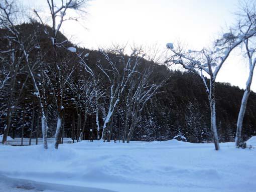 群馬県川場村・雪景色4
