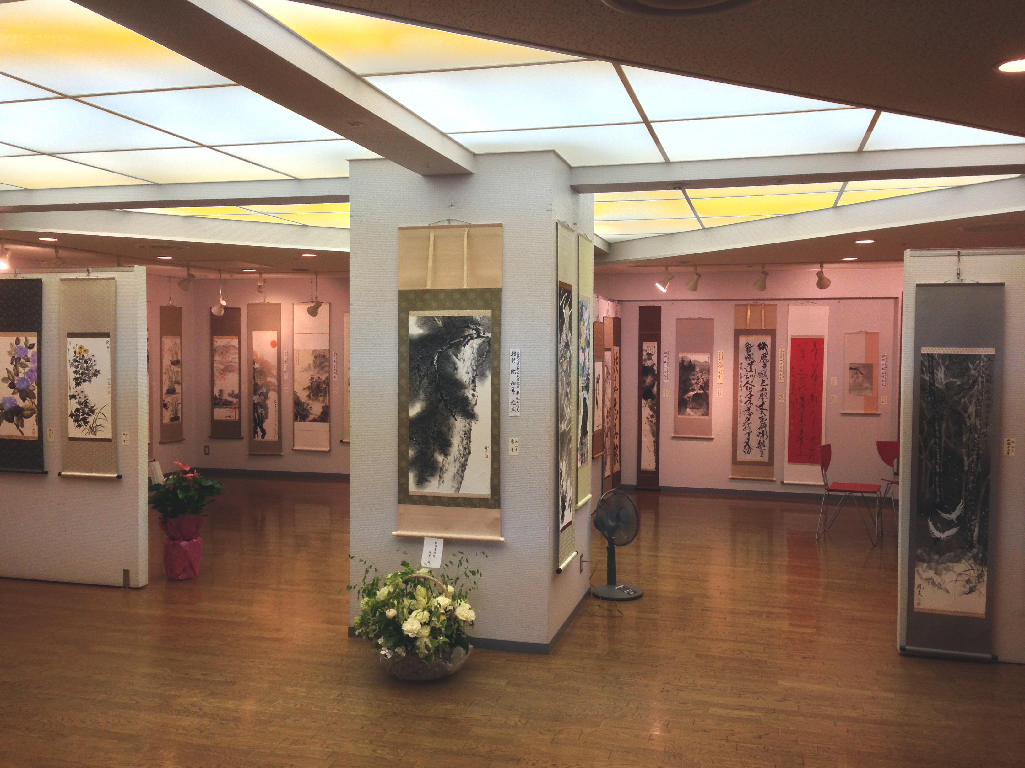 洛陽中国書法水墨画院展 2014 会場風景 3
