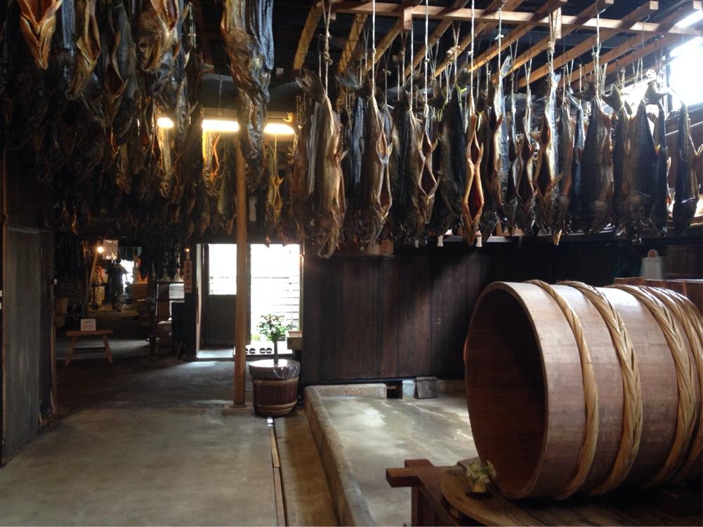 新潟県 村上市 塩引鮭の風景1 撮影:遠藤夕幻