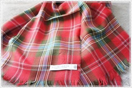 0304 Locharron of Scotland ストール-1