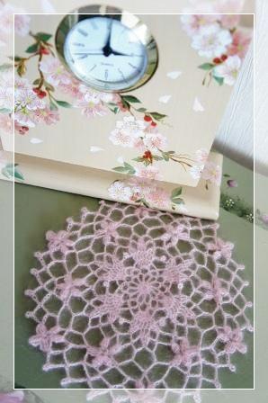 0321桜のドイリー-1