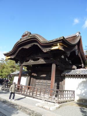 2014.1.13大徳寺山門-1