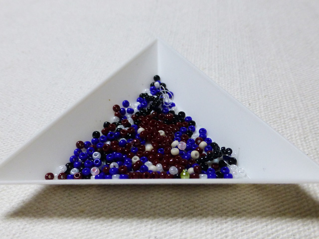 ビーズで「ローゼンメイデン」の『蒼星石』を作り直してみた