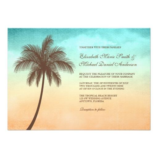 熱帯浜のヤシの木の結婚式の招待-r965c5cfdb0f64ec78f9b52f851e77cea_imtzy_8byvr_512