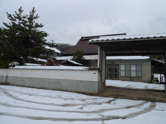L1070078 家の雪景色