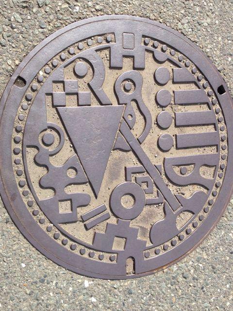 福岡マンホール1