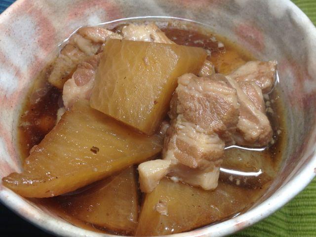 豚バラ大根煮