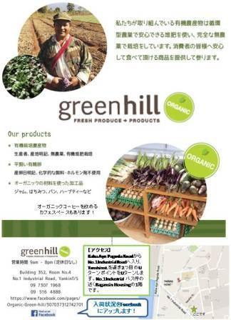 グリーンヒルチラシ