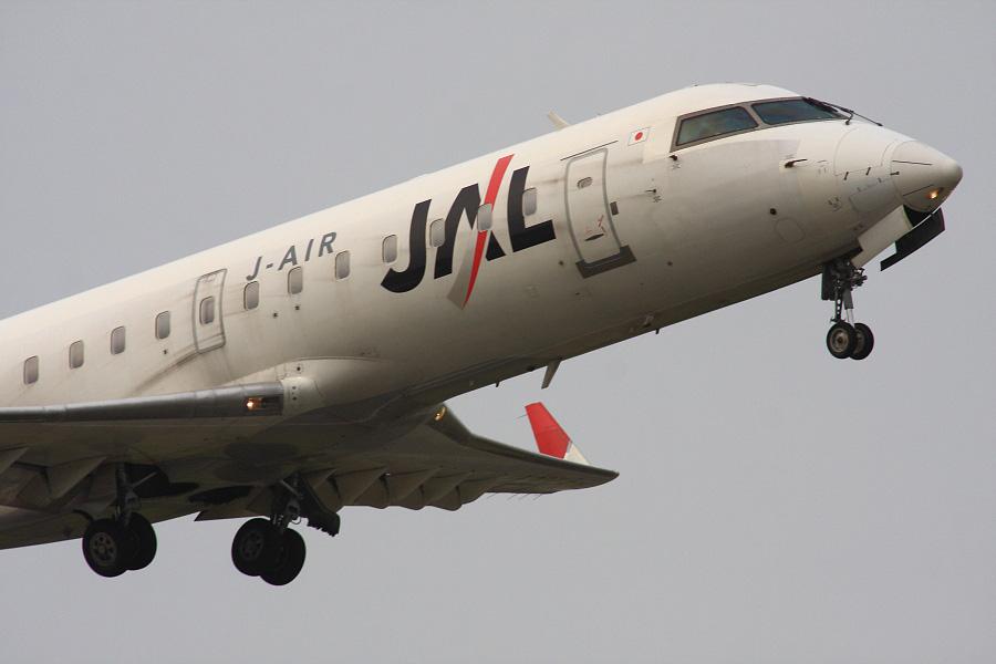 J-AIR CRJ-200ER / JAL2171 (JA207J)@下河原緑地展望デッキ