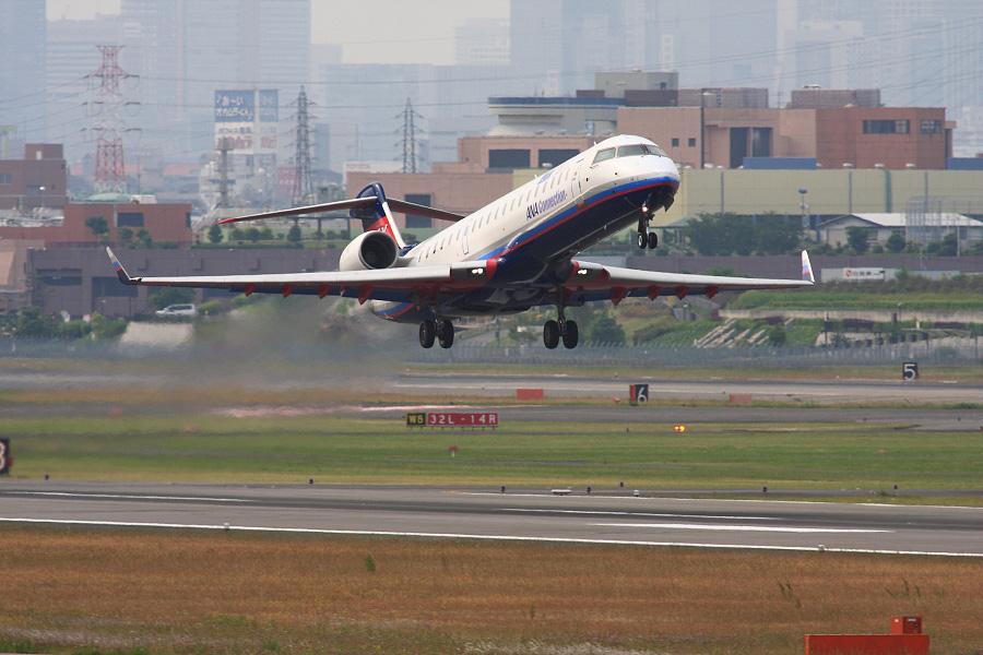 IBX CRJ-700 / IBX41 (JA09RJ)@下河原緑地展望デッキ
