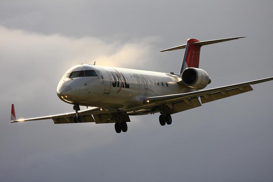 J-AIR CRJ-200ER / JAL2366 (JA207J)@エアフロントオアシス下河原