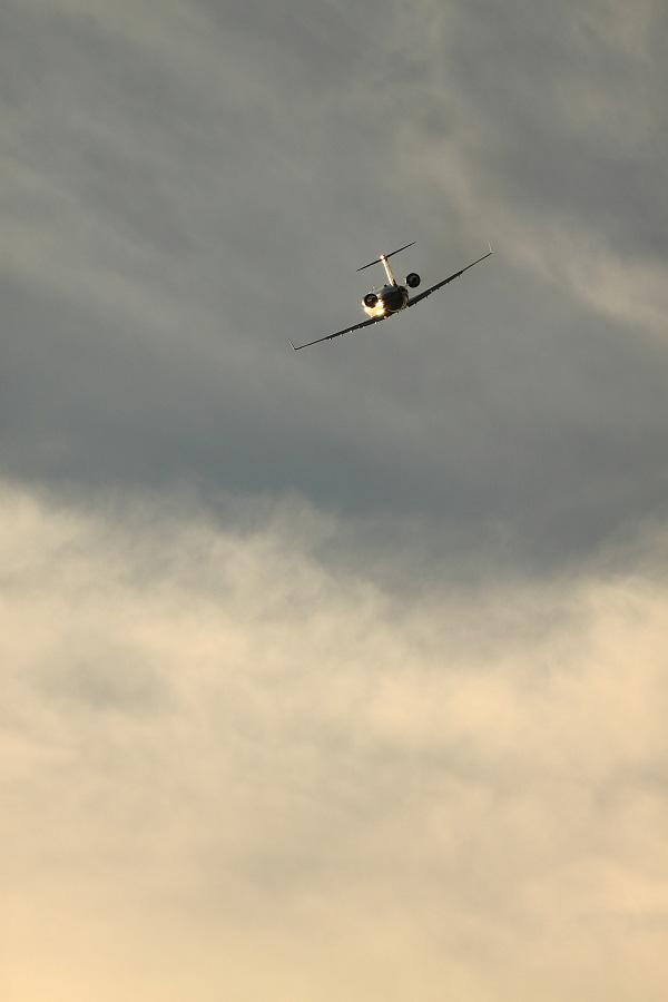 J-AIR CRJ-200ER / JAL2309 (JA205J)@下河原緑地展望デッキ