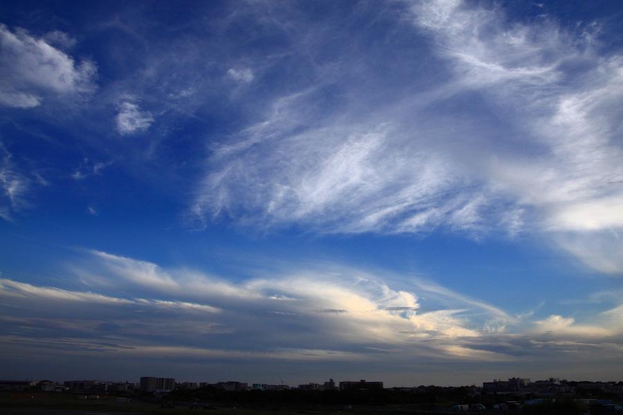 エアフロントオアシスから見た今日の空@エアフロントオアシス下河原