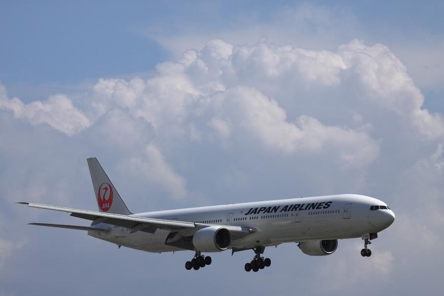 JAL B777-346 / JAL2084 (JA8944)@千里川土手周辺