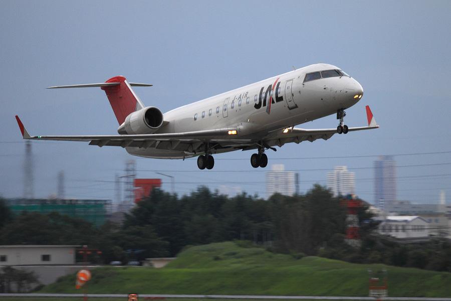 J-AIR CRJ-200ER / JAL2367 (JA203J)@下河原緑地展望デッキ