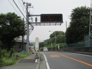 名古木交差点の先