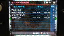 MH4 モンスター狩猟記録 6