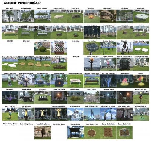 庭具一覧1700英語