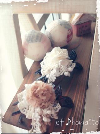 2014.8.1モチーフヘアアクセ②