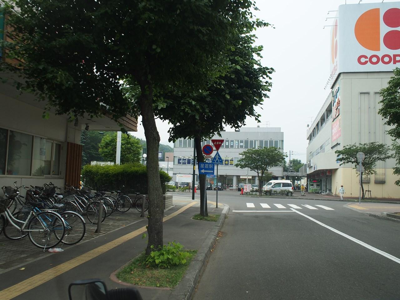 星置駅前のCOOP