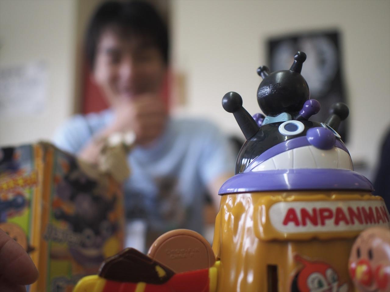 「黒ひげ危機一髪」のアンパンマンバージョン