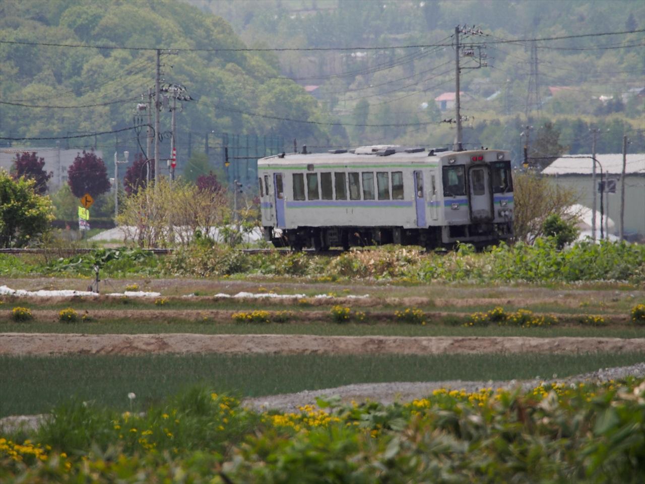 ローカル線の風景