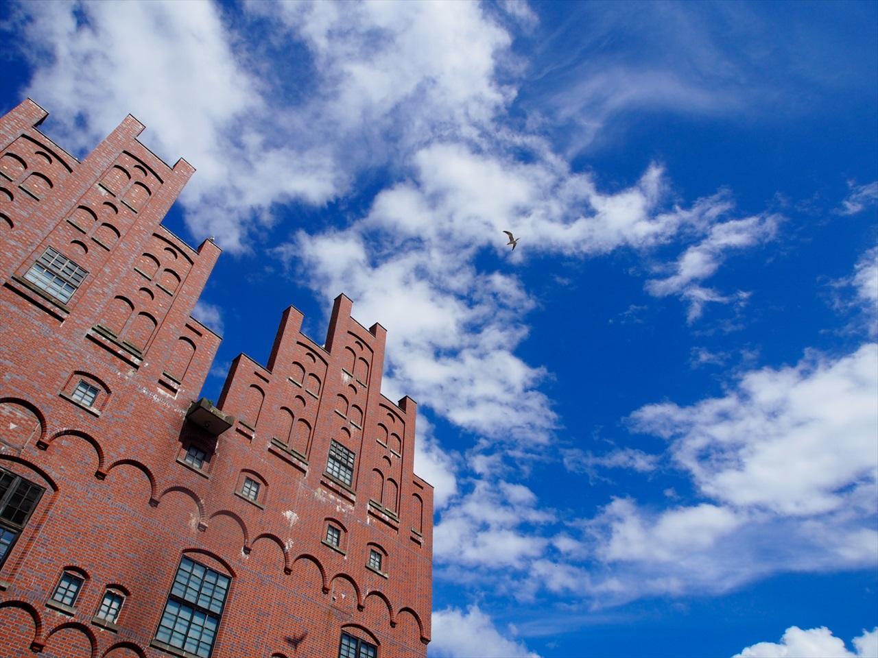 ニクス城の青空