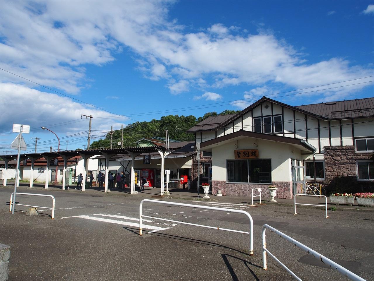 登別駅の駅舎