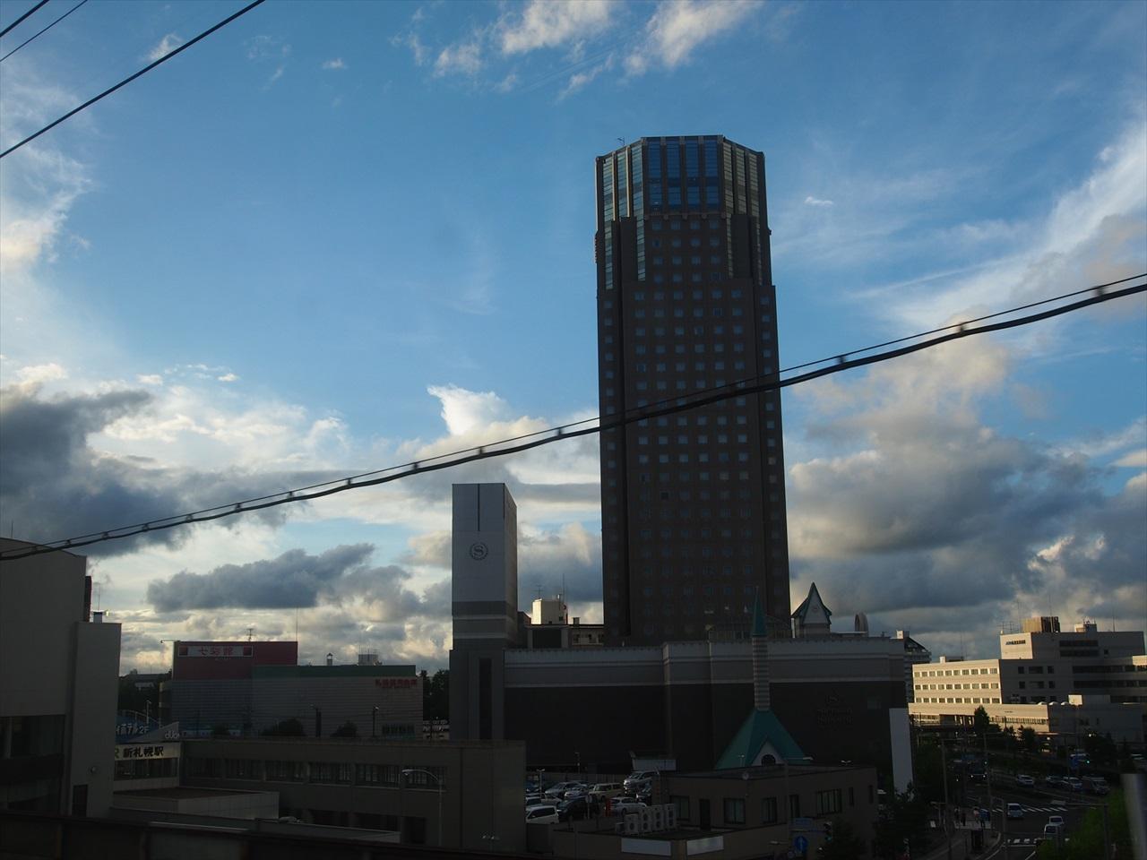 新札幌における車窓風景