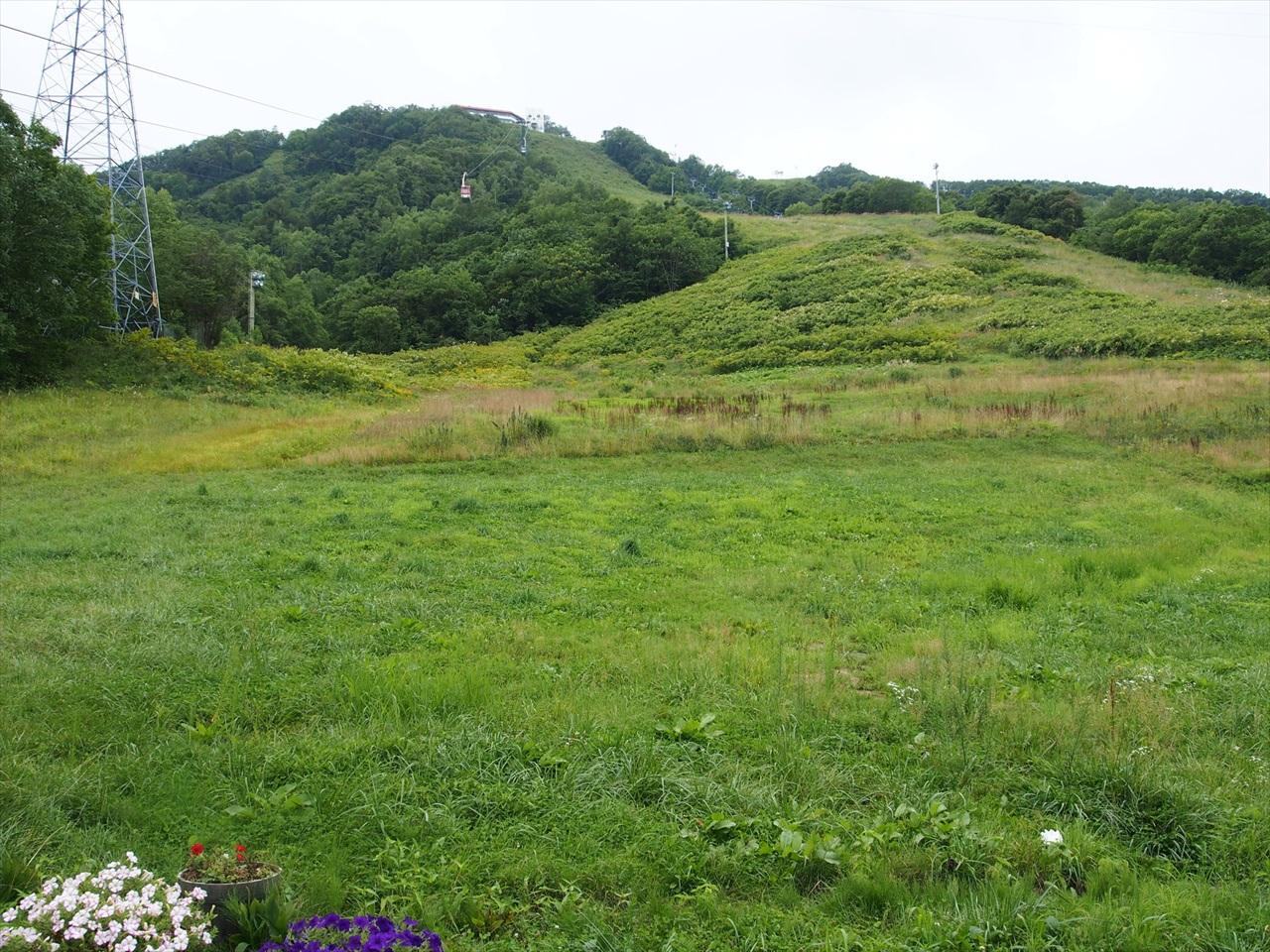 天狗山のスキー場