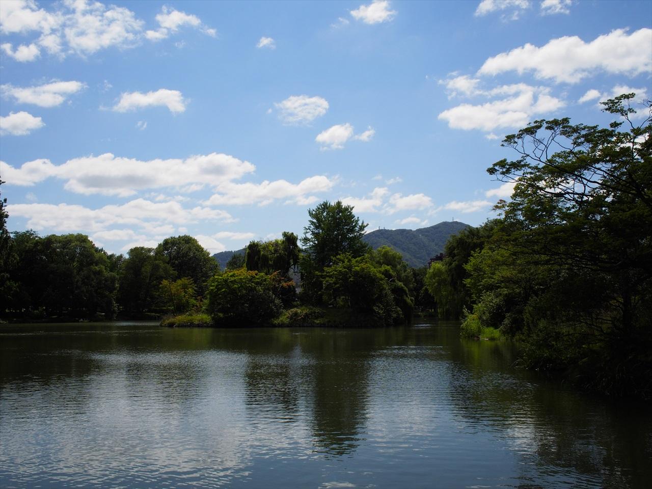 菖蒲池の景色1