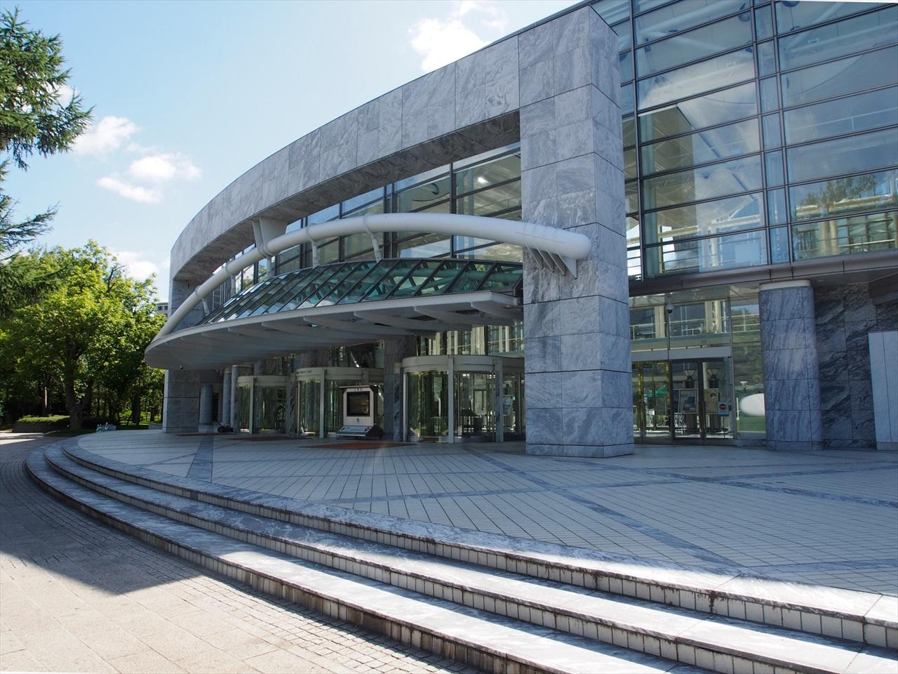 札幌コンサートホール Kitara の外観